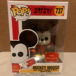 Mickey Mouse Asia Exclusive Funko pop